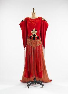 Robe Sabat  Paul Poiret, 1921  The Metropolitan Museum of Art