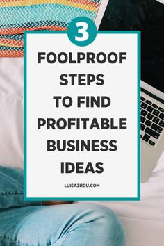 How do you find a business idea as an entrepreneur? Here are the TOP 3 steps to find profitable businesse ideas and start your business today. #businessideas #profitablebusinessideas #businessidea #bestbusinessidea