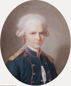 Pierre Choderlos de Laclos by Maurice Quentin de La Tour