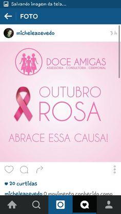 Doce Amigas - Outubro Rosa