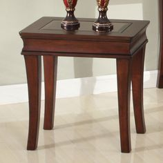 Parker House Afton Rectangle Espresso Wood and Glass Chairside Table Eclectic Furniture, Small Furniture, Fine Furniture, Furniture Design, Accent Chairs For Living Room, Dining Room Sets, Dining Chairs, Coffee Table With Shelf, Parker House