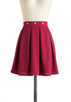 Sass in the Workplace Skirt, #ModCloth  $20.99    One ideal skirt.