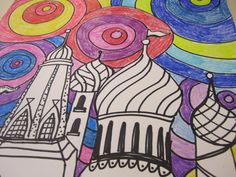 » Third Grade Architecture Study Georgetown Elementary Art Blog
