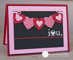 Stampin' Anne: Lots of Hearts for Dynamic Duos #38