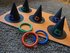 9 Fun DIY Halloween Games for Kids Halloween Spiele für Kinder The post 9 Fun DIY Halloween Games for Kids appeared first on Halloween Crafts. Theme Halloween, Halloween Games For Kids, Halloween Tags, Fun Games For Kids, Halloween Birthday, Holidays Halloween, Halloween Parties, Halloween Costumes, Halloween For Kids
