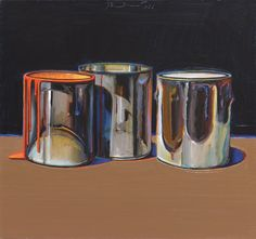 Thiebaud, Wayne (1920-)  Paint Cans