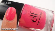 ELF Pink Nail Polishes! Fluorescent Pink, Gum Pink, Passion Pink ...