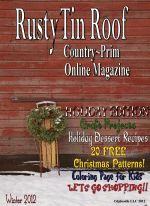 Welcome to Rusty Tin Roof :: Country~Primitive Online Magazine I look forward to receiving this each time.