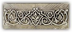 ArteyMetal: Caja joyero plumier floral 01