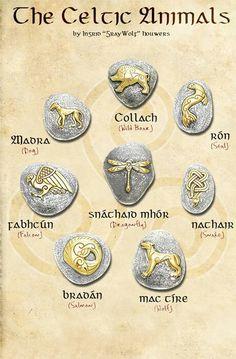 The Celtic animals