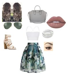 """""""Wish i had"""" by royal727 on Polyvore featuring Chicwish, Theory, Ray-Ban, Givenchy and Lime Crime"""