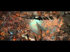 See the CGI behind the scenes...very cool!  ~ VFX of The Hobbit: Fantastical Creatures & Lands of Epic Beauty & Darkness