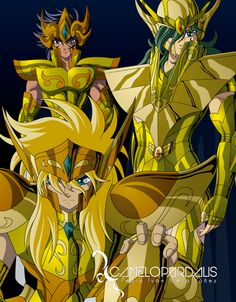 Saint seiya Fan ART : Foto                                                                                                                                                                                 Más
