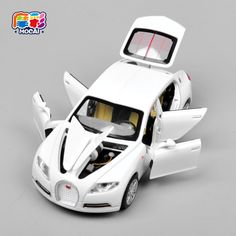 Hot sale Collectible Alloy Diecast toy Cars Model 1/32 Bugatti Veyron 16C Galibier w/light&sound Pull Back oyuncak children Toy  Price: 9.21 USD