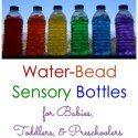 http://livingmontessorinow.com/2015/02/10/water-bead-sensory-bottles-for-babies-toddlers-and-preschoolers/