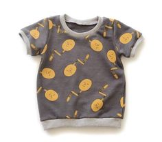 Modern pdf sewing patterns for knit fabric baby and toddler clothing