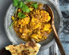 Madhur Jaffrey recreates London restaurant Roti Chai's fish chunks marinaded in Kashmiri spices and served in a rich curry sauce Curry Recipes, Fish Recipes, Indian Food Recipes, Indian Foods, Recipies, Fish Dishes, Seafood Dishes, Madhur Jaffrey Recipes, Bengali Fish Curry
