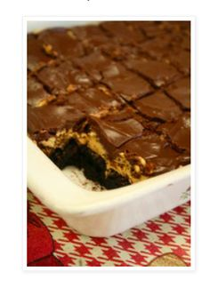 Best Ever Buckeye Brownies Recipe - most pinned and viewed post! Everyone loves these brownies!