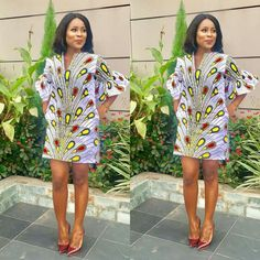Perfect Ankara First Date Outfits - Fashion Ruk African Party Dresses, Short African Dresses, African Print Dresses, African Print Fashion, African Fashion Dresses, African Outfits, Ankara Fashion, African Blouses, African Attire