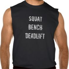 Squat Bench Deadlift Men's Tank Top weightlifting powerlifting