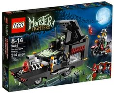 Monster Fighters LEGO Sets - The Vampyre Hearse (9464)