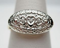 1950s Princess Ring - I would love to have Mama's ring that was similar to this.  I used to wear it all the time.