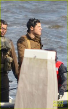 Harry Styles Shows Off His Short Hair on 'Dunkirk' Set