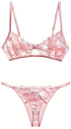 Pink Lingerie, Luxury Lingerie, Vintage Lingerie, Tulle, Indie Brands, Luxury Branding, Bikinis, Swimwear, Ready To Wear