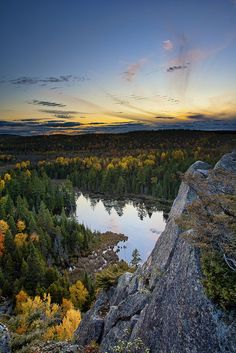 Hiking the trails in Gatineau Park and getting a peek of the sunset. #Gatineau, #Ottawa