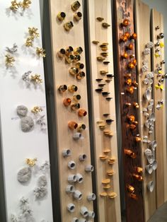 From Design Milk - This rubber wall planter from Gold Leaf Design Group was so cool. Also, they make these beautiful wall decorations that you simply screw into your wall:gold-leaf-design-group-walls