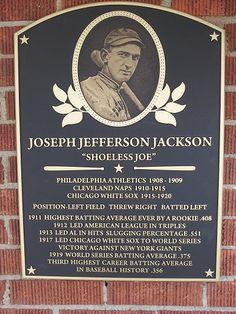 Shoeless Joe Jackson Museum : Located Downtown Greenville   #JennyKnowsGreenvilleSCRealEstate #JennyRogersTesner   #GreenvilleSC