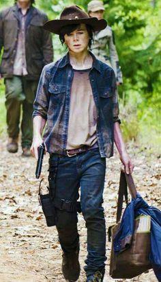 "Carl Grimes - season 5 ""Strangers""."