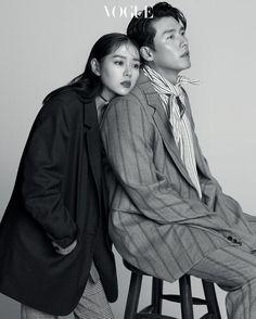 Hyun Bin and Son Ye Jin for Vogue Korea September Photographed by Ahn Joo Young Korean Couple Photoshoot, Vogue Photoshoot, Pre Wedding Photoshoot, Vogue Korea, Vogue Spain, Couple Posing, Couple Shoot, Couple Photography, Photography Poses