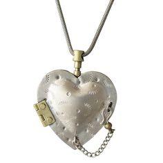 Chamber Heart Locket-Thomas Mann