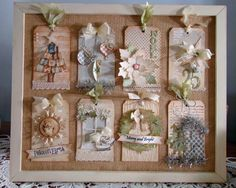 Christmas Sampler class at Remember This
