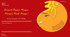 Ganesh Messages Online Invitations Invitation Cards Invite Ganesha Message Passing
