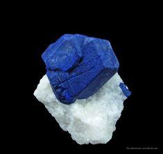 Lazurite  Sar-e-Sang, Kokscha Valley, Badakshan Province, Afghanistan ex. Herb Obodda Toenail, 3.1 x 3.1 x 1.5 cm