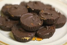 Chocolate Peanut Butter Cup recipe via Delightfully Tacky. This is the recipe I always use! I add vanilla extract.
