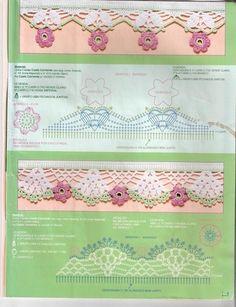 arts and craft books: edging crochet pattern, free crochet pattern - crafts ideas - crafts for kids