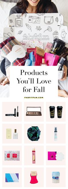 Who's ready for fall fashion, fall beauty, and {of course} pumpkin spice lattes? We sure are.   This FabFitFun box has everything you need for fall from an amazing eyeshadow palette to a coffee mug to a scarf and more!  Our boxes are selling out fast, so sign up today to make sure you don't miss out! Use code HAPPY to get $10 off of your first box!