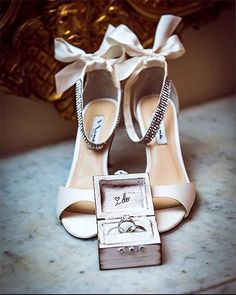 The Vinnie Pump – Wedding Shoes by Nina Shoes. Photo by Brian Taback Photography http://ninashoes.com/vinnie-ivory-luster-satin--18201?utm_source=Pinterest&utm_medium=Social%20Media%20Campaign&utm_term=Wedding%20Chicks%2C%20Wedding%20Shoes&utm_content=Wedding%20Chicks%20Post%202&utm_campaign=Vinnie