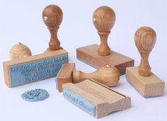 Dřevěná razítka od 49 kč - Dřevěná razítka   levně Praha, Wooden Toys, Place Cards, Place Card Holders, Wooden Toy Plans, Wood Toys, Woodworking Toys