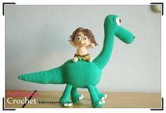 Spot - Good Dinosaur - Crochet Pattern - Amigurumi