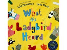 What The Ladybird Heard by Julia Donaldson and Lydia Monks review, resources and activities   damsonlane.com
