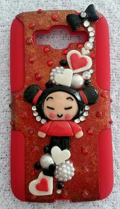Pucca!Samsung Grand 2! Samsung Grand, Cell Phone Cases, Gingerbread Cookies, Deco, Desserts, Handmade, Food, Gingerbread Cupcakes, Tailgate Desserts