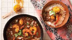 Malvani Shrimp Rassa (Shrimp Curry)