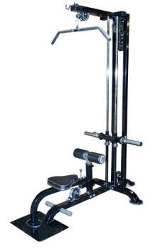 Powertec Fitness Lat Machine, Black - http://www.myhomegymequipment.com/arm-exercise-machine/powertec-fitness-lat-machine-black-2/