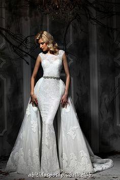 664173f2d16 8 mejores imágenes de Vestidos de novia convertibles