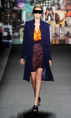 TRACY REESE Fall 2012. #StyleInvades #NYFW #MBFW    For all your #NYFW Fix follow http://www.twitter.com/Jeanniemai