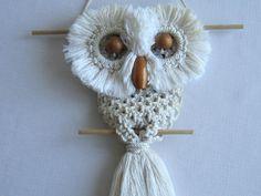 Cool macrame owl